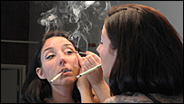 Click image for larger version.  Name:Lily Marlene - Smoking and Putting on Makeup - RAW pt1.00_09_38_53.Still003.jpg Views:89 Size:726.1 KB ID:4012119