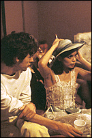 Bianca Jagger - 1972 - with Mick..jpg